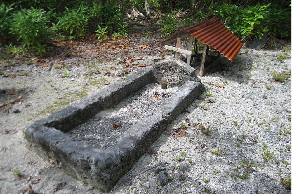 tombe de la chapelle de Tahanea