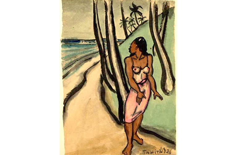 Illustration Wolff Wolfgang, Tahiti 1936