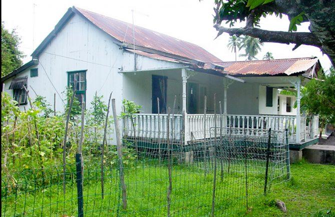 Ancienne maison coloniale de Paea