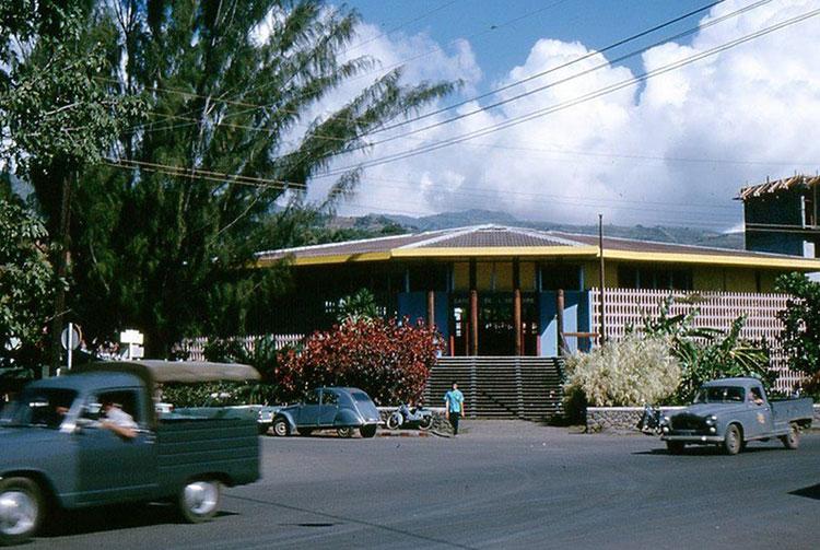 La Banque de l'Indochine de Papeete en 1960