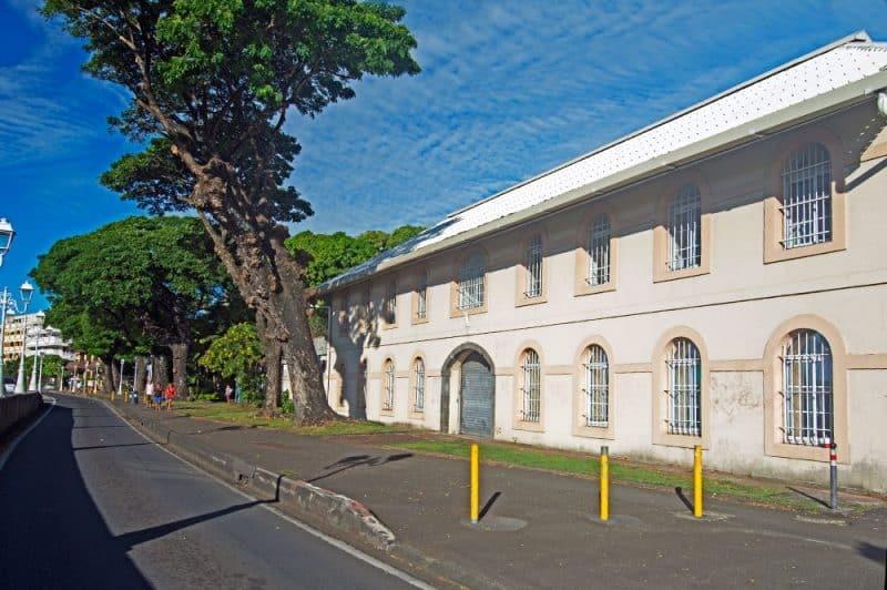 Ancien siège du commandement de la Marine nationale à Tahiti.