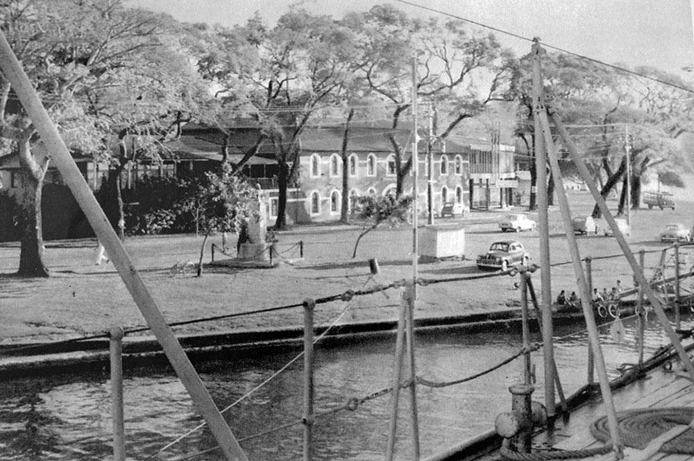 Le commandement de la Marine à Papeete