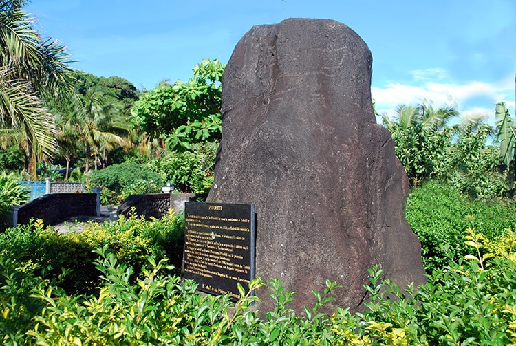 Pierre Pitohiti, premier sommet de Tahiti, Papenoo