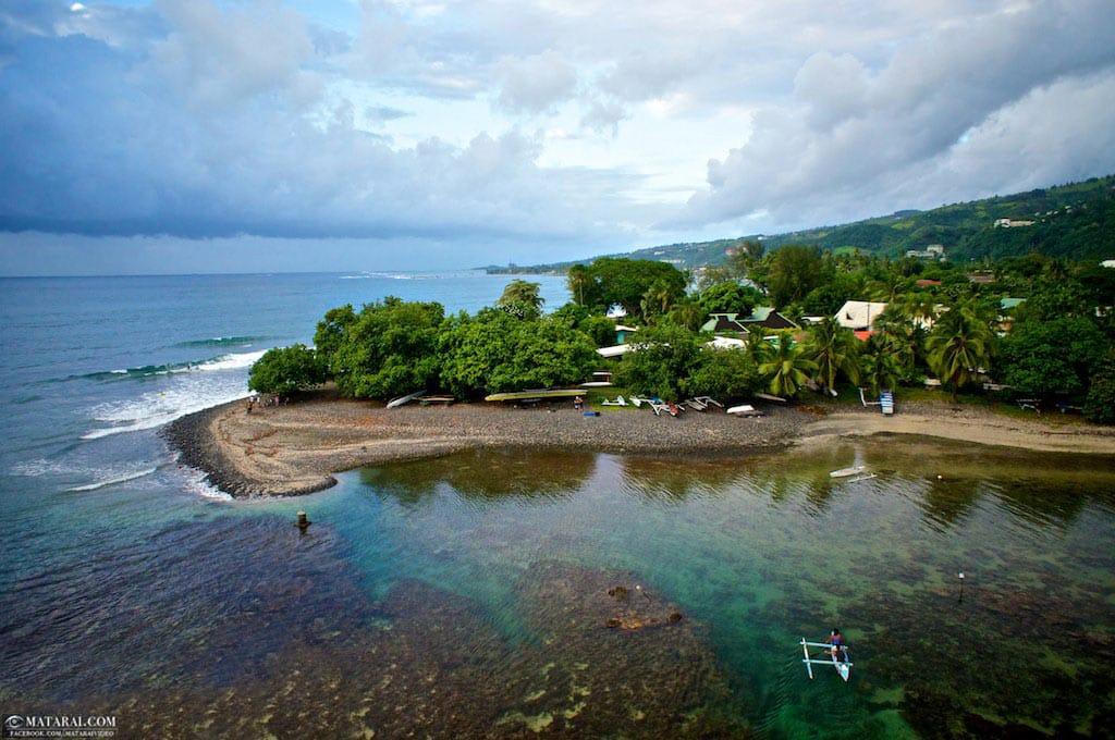 punaauia, Pointe des pêcheurs. Photo Matarai