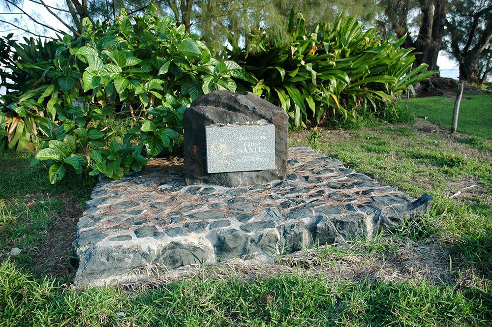 Monument des pasteurs Sanito de Taahueia - Tubua