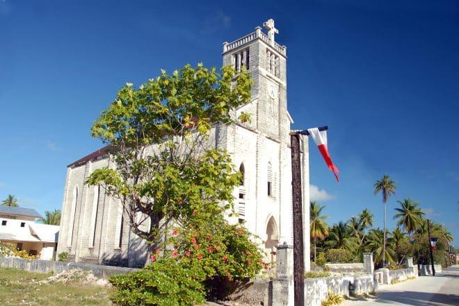 Eglise de Hikureu au Tuamotu