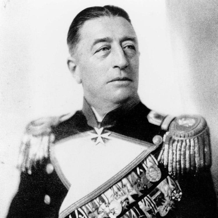Portrait du Comte Félix von Luckner
