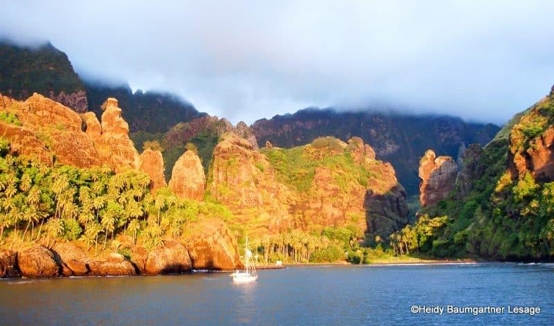 Baie des vierges de Fatuiva. Photo heidy Baumgartner Lesage