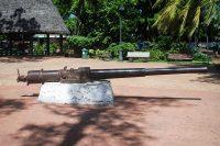 Canon du corsaire allemand Seeadler , parc Bougainville à Papeete