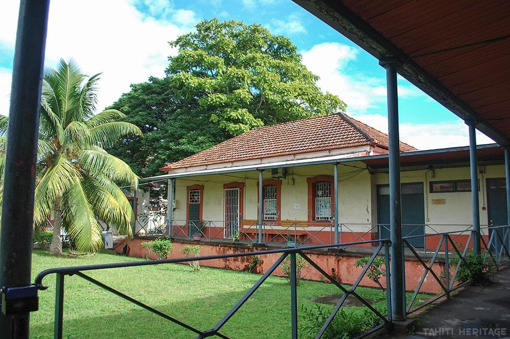 Hôpital Vaiami à Papeete en 2009 © Tahiti Heritage
