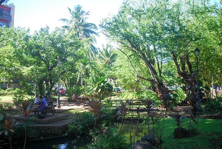 Parc Bougainville à Papeete, Tahiti © Tahiti Heritage