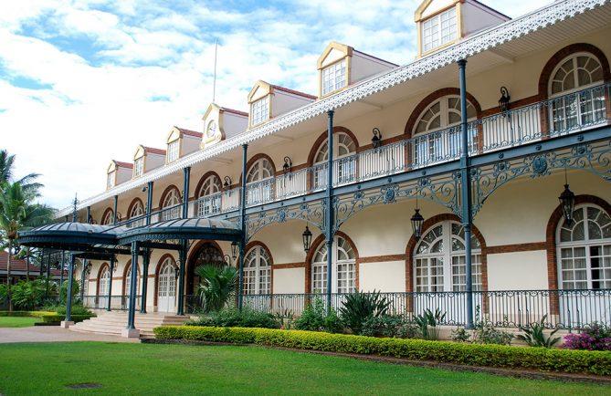 Présidence du Gouvernement à Papeete © Tahiti Heritage