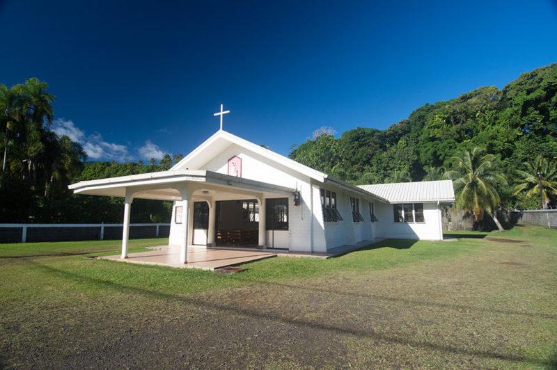 Eglise Sainte-Anne de Papenoo © Tahiti Heritage