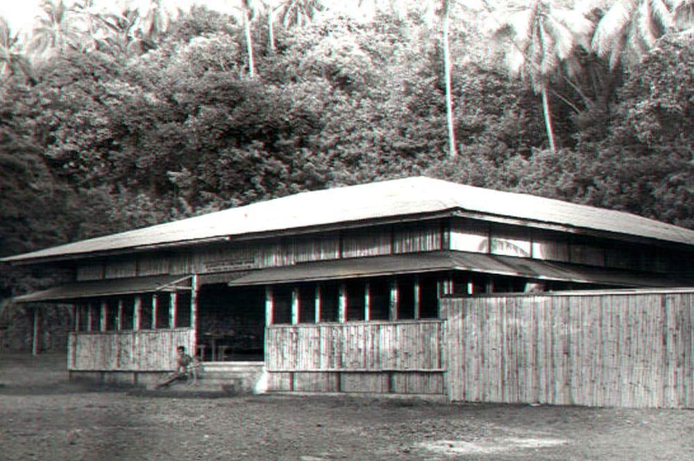 Ancien dancing Le Lafayette, vers 1960, Arue Tahiti