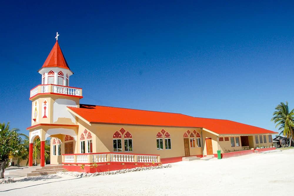 Nouvelle église Sainte-Marie Madeleine de Faaite