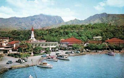 Front de mer de Papeete avec l'immeuble Donald.