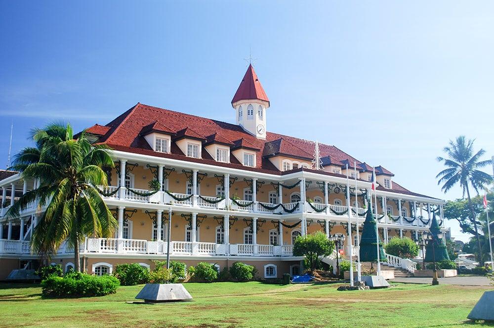 Mairie de Papeete, Tahiti