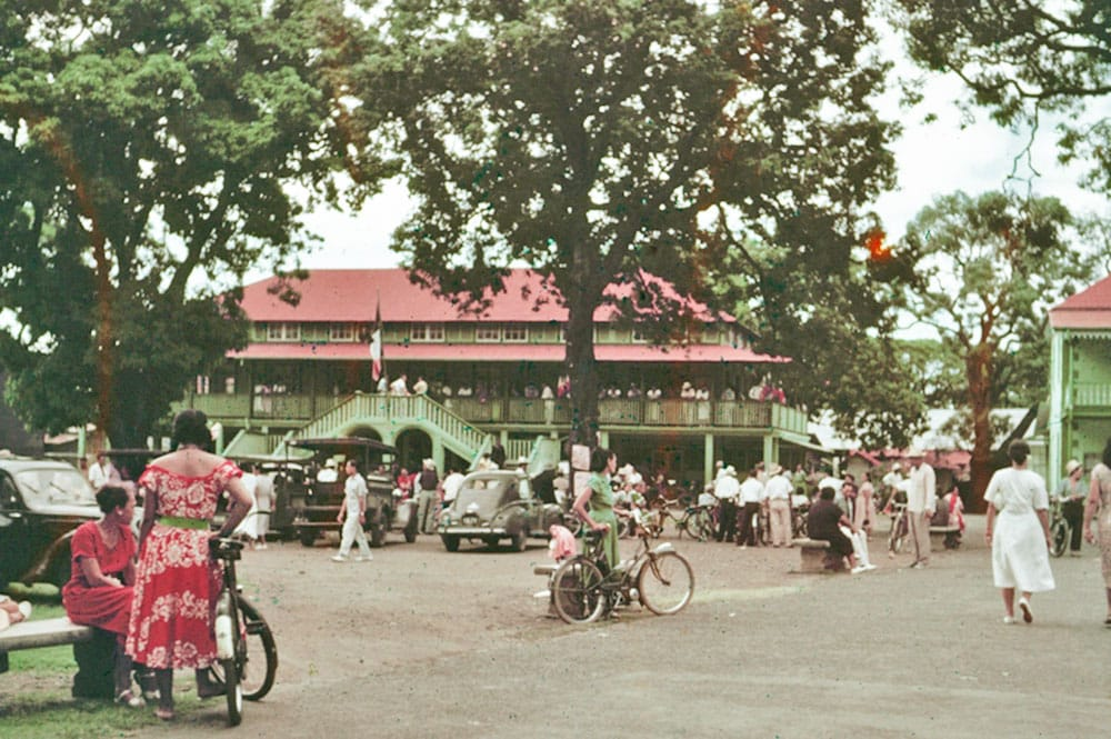 L'ancienne mairie de Papeete
