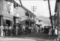 Une rue de Papeete en 1932.
