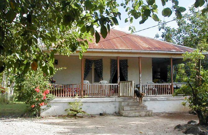 Maison Voirin à Avatoru, Rangiroa © Tahiti Heritage