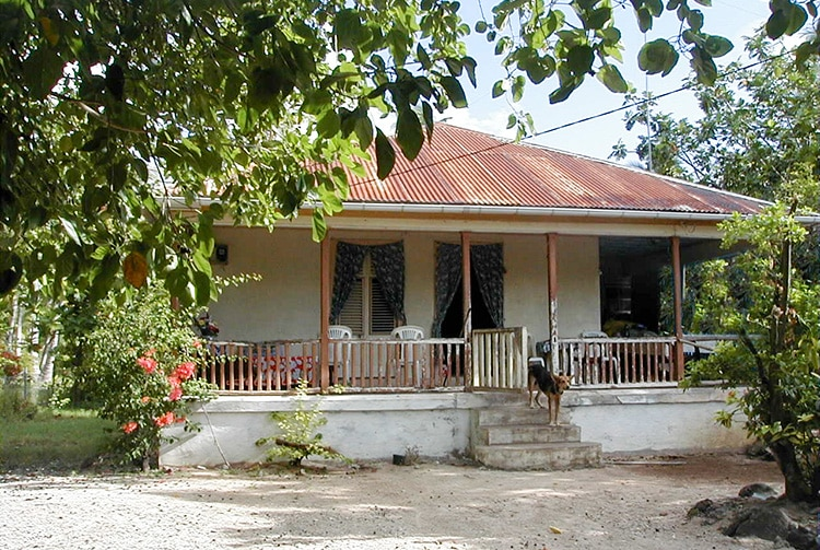 Maison Voirin à Avatoru, Rangiroa