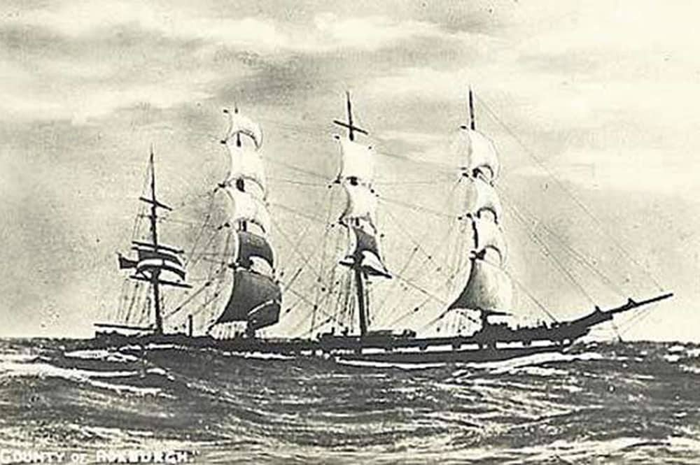 Le navire County of Roxburgh