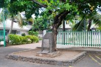 Stèle de Tearapo, Arue, Tahiti © Tahiti Heritage
