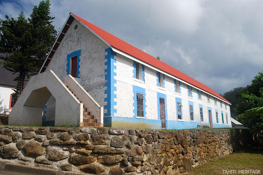 Maison des frères tisserands de Rikitea - Gambier © Tahiti Heritage / Olivier Babin