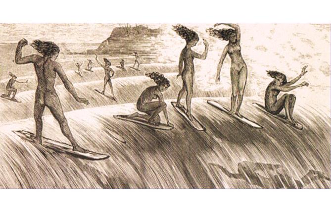 Origine du surf