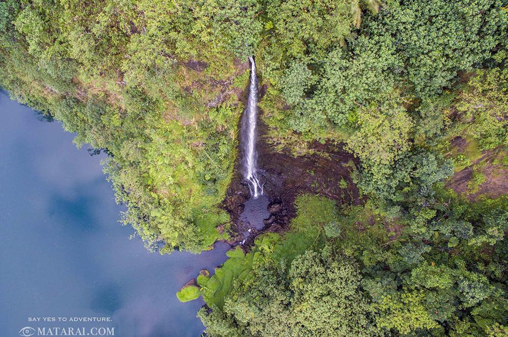 Cascade Puhara de la vallée de Papenoo. Photo Matarai