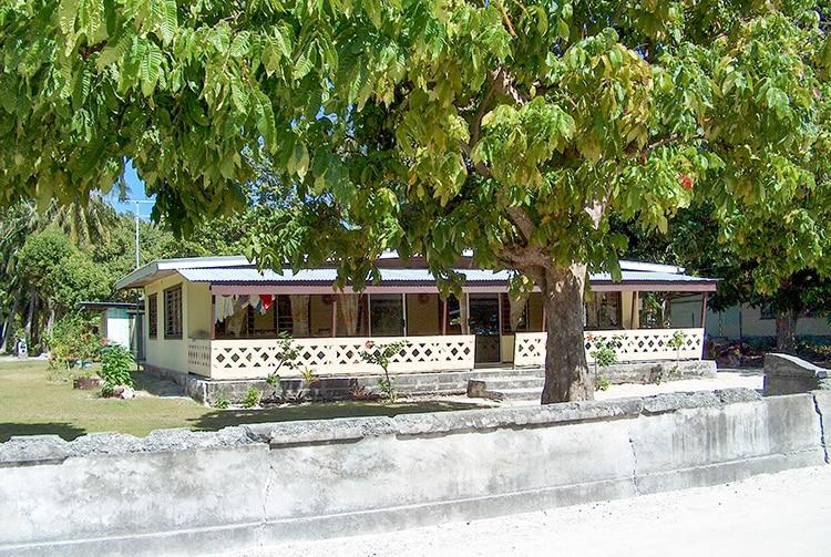 Maison du village Tuherahera à Tikehau
