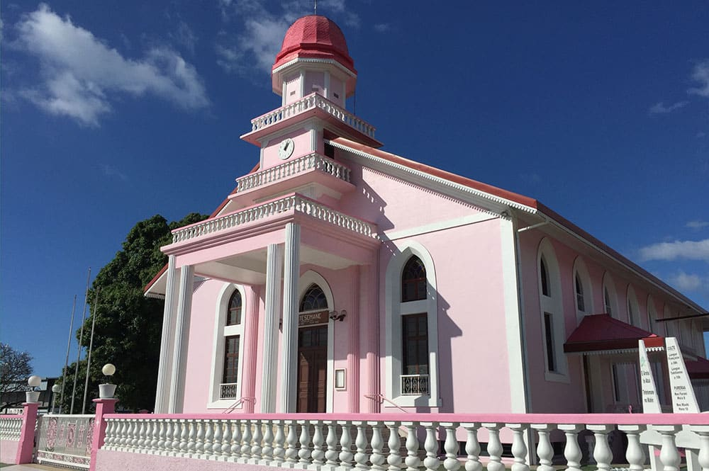 Temple protestant de Mahina, Tahiti © Tahiti Heritage