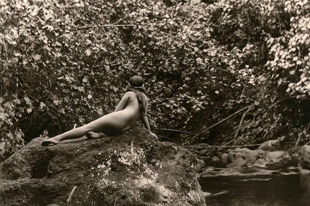 Le bain Loti en 1935 Photo Lucien Gauthier