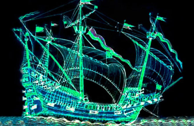 La dame blanche japonaise rescapée du vaisseau espagnol Paniora - Atimaono