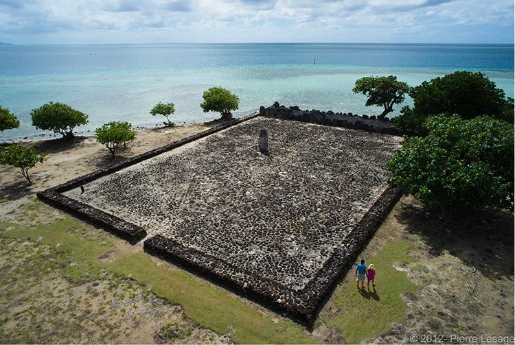 Marae Taputapuatea, Raiatea. Photo Pierre Lesage