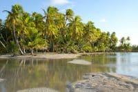 Motu Fakarava de l'atoll de Tatakoto. photo Mermoz