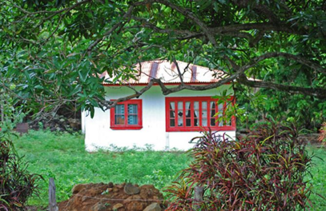 Maison rouge de Hane, Ua-Huka