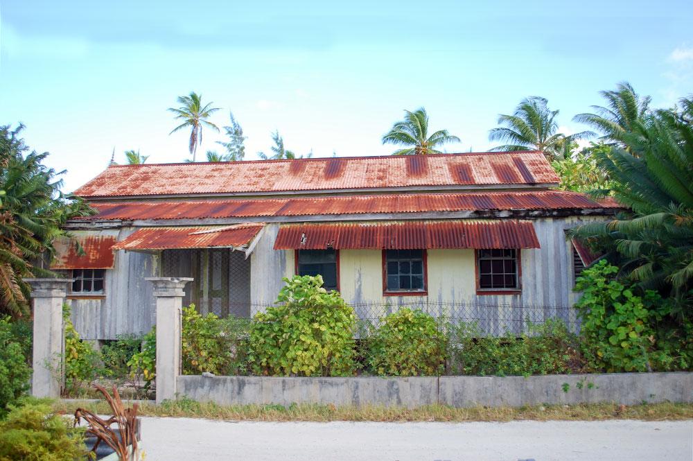 ancienne maison du village de Taena à Fangatau