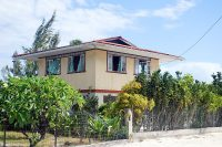 Maison Estall du village de Taena à Fangatau