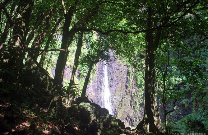 Trois cascades de la Faaurumaì, Hitiaa © Tahiti Heritage