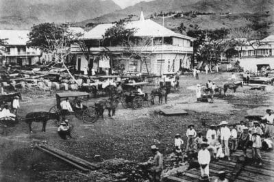 Papeete vers 1900