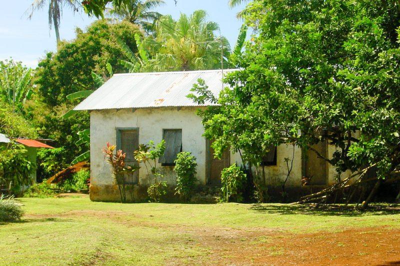 Ancienne maison de Tubuai, Australes. © Tahiti Heritage