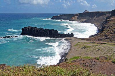 Trou du souffleur de Manihinatahuna à Ua Huka