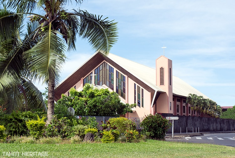 Eglise sainte th r se de taonoa tahiti heritage - Eglise sainte therese guilherand granges ...