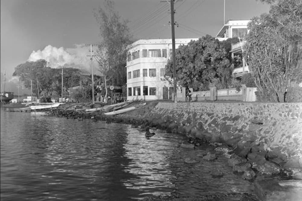 Grand Hôtel en 1951, Papeete