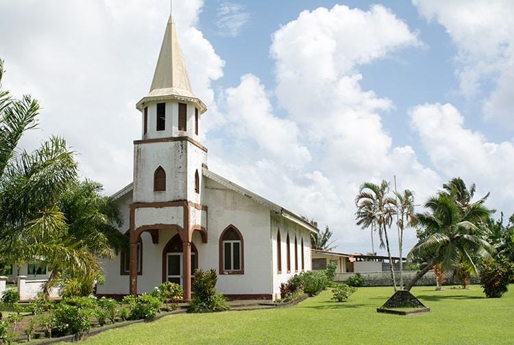 temple protestant de Afaahiti