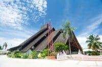 Eglise Saint-Etienne de Punaauia, Tahiti © 2015 Tahiti Heritage