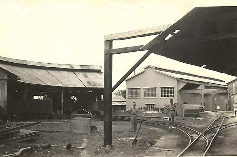 La gare de triage à Vaitepaua, Makatea