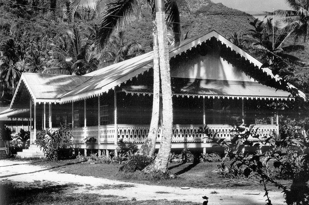 Maison coloniale, Fare vanira de Papao