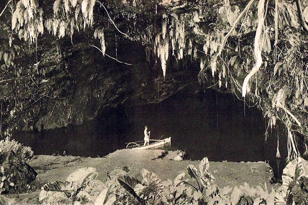 La grotte de Maraa vers 1930